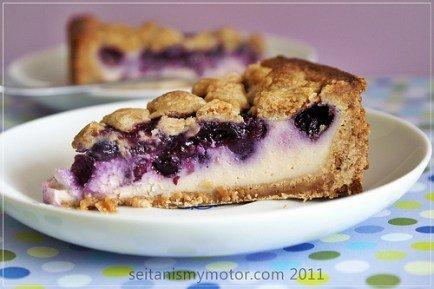 vegan blueberry cheesecake