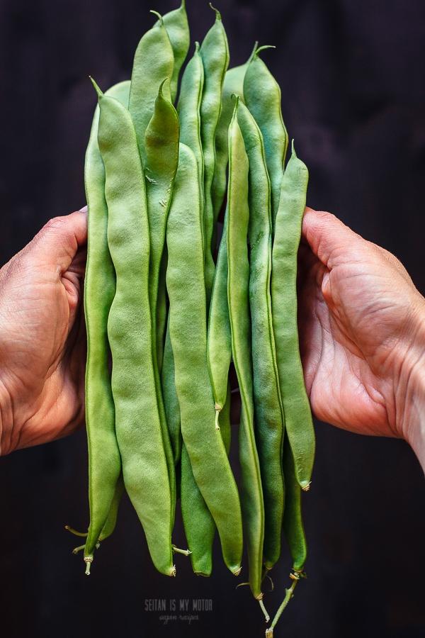 Schippelbohnensuppe Vegan Month of Food 2015