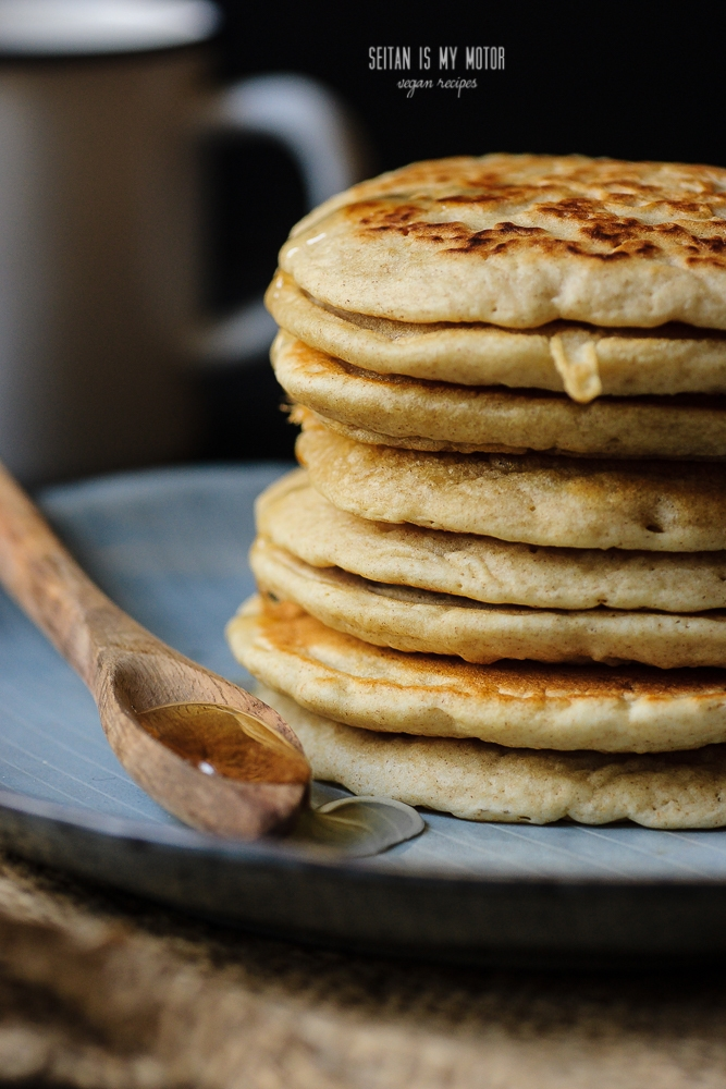 pancakes made with organic baking powder #baking #bakingpowdertest