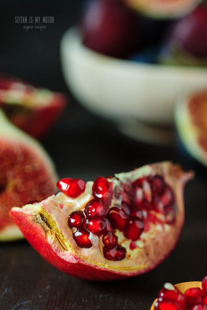 Fig, Plum, and Pomegranate Jam