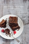 Best Vegan Brownies | seitanismymotor.com