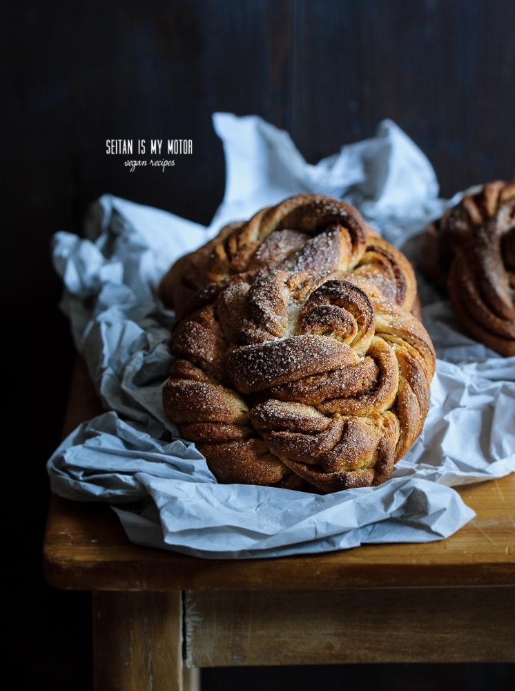 Norwegian Cinnamon Buns (Norske Kanelsnurrer) | seitanismymotor.com