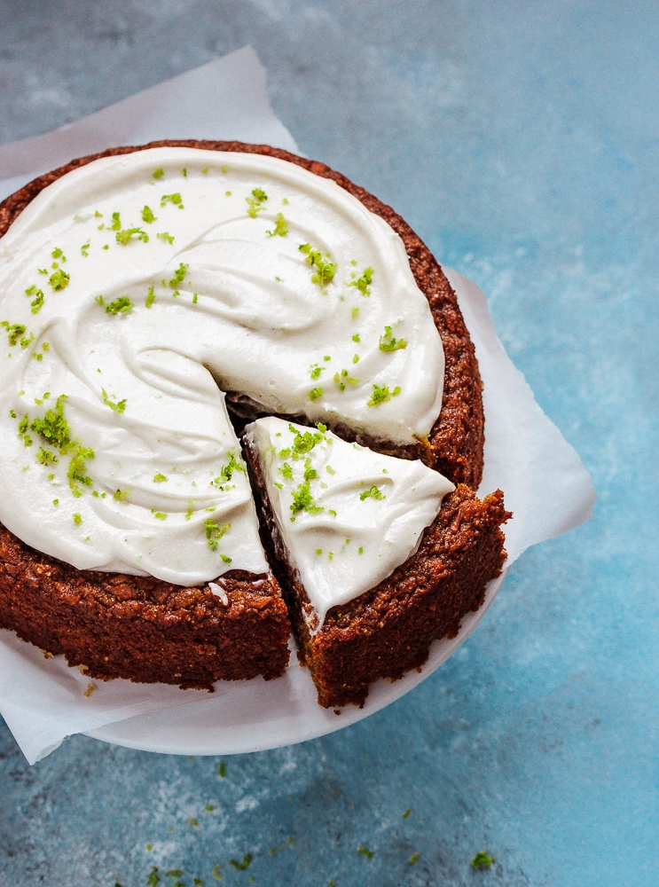 Carrot Cake Recipe #vegan #wholegrain