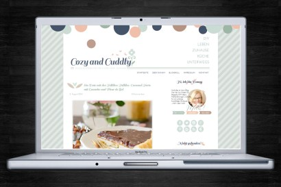 Blog-Design mit individuellem Theme