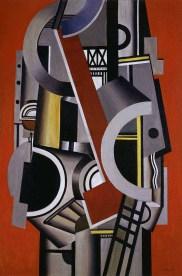 Léger, Élément mécanique, 1924, olio su tela
