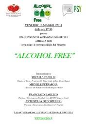 A3 evento riccia alcool free 2014