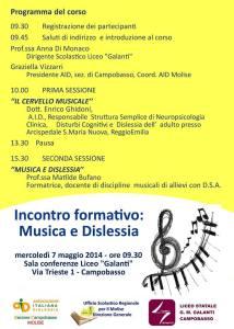 musicaedislessia