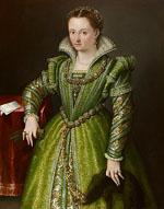 Lavinia Fontana,Bologna 1552 - Rome 1614, Laura Ginzaga in verde