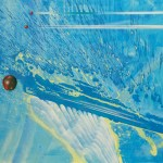 MARGONARI RENZO - Due ciliege e una mela sparate di buon'ora, 2008, t.m. su tela, cm 100x120