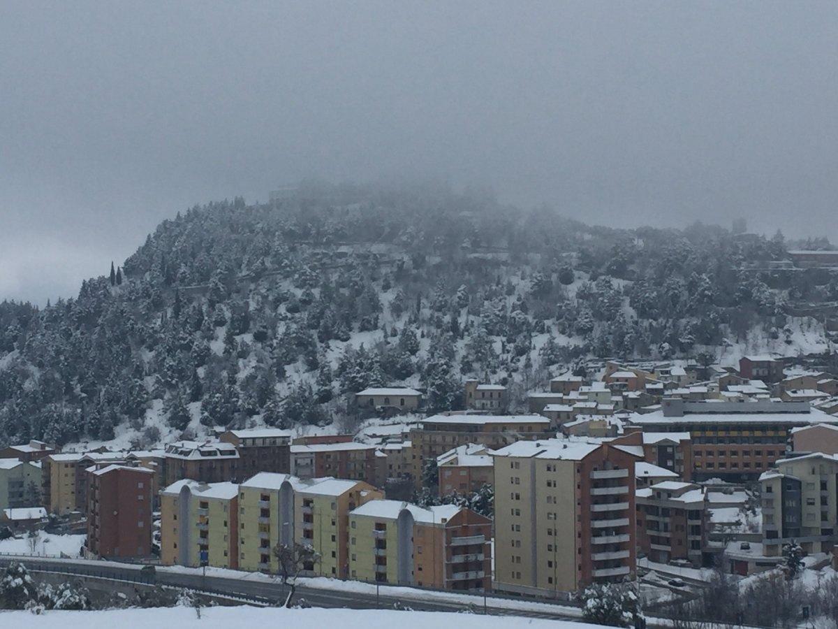 Neve in arrivo, scuole chiuse a Campobasso