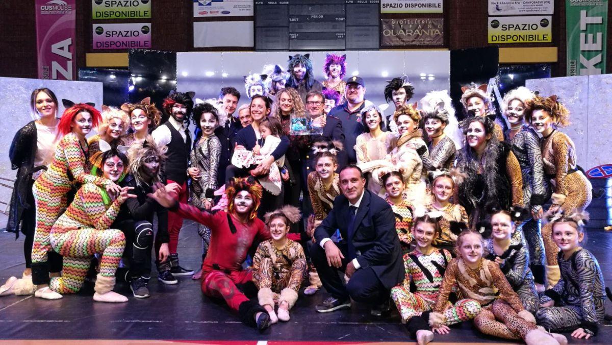 """Successo per """"La Danza dei Gatti"""", in ricordo di Mariano Credico l'evento organizzato dall'Associazione Talenti e Artisti Molisani"""