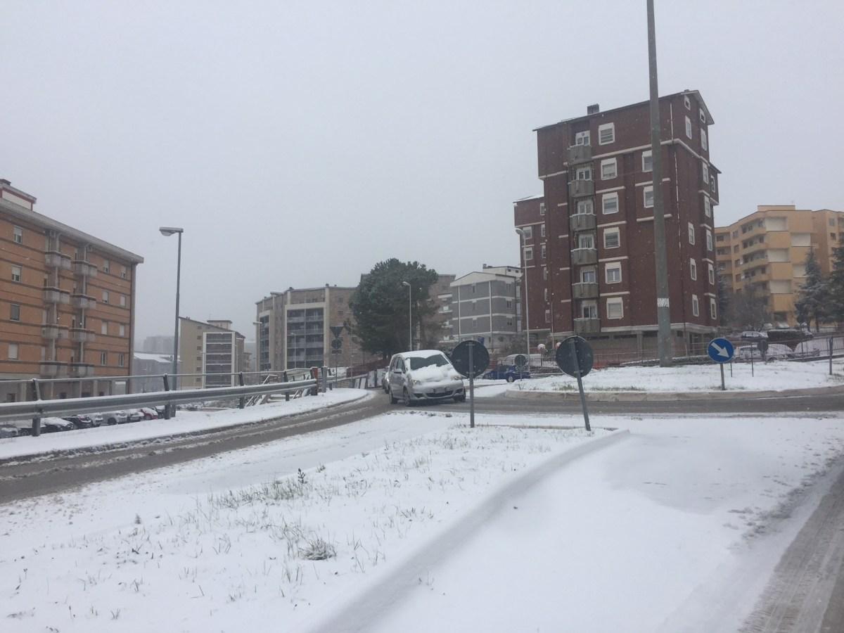 Nevica sul Molise, scuole chiuse in alcuni centri