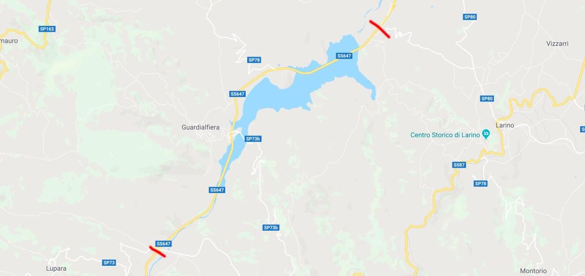 Ancora scosse di terremoto in Molise. Chiuso il ponte del Liscione