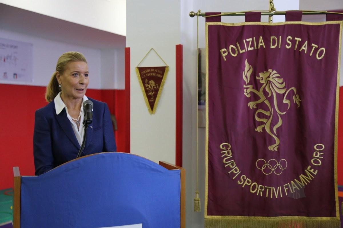 """La Scuola Allievi agenti di Polizia """"G. Rivera"""" ha la sua sezione delle Fiamme Oro. Inaugurata alla presenza della Dirigente Maria Luisa Pellizzari (FOTO)"""