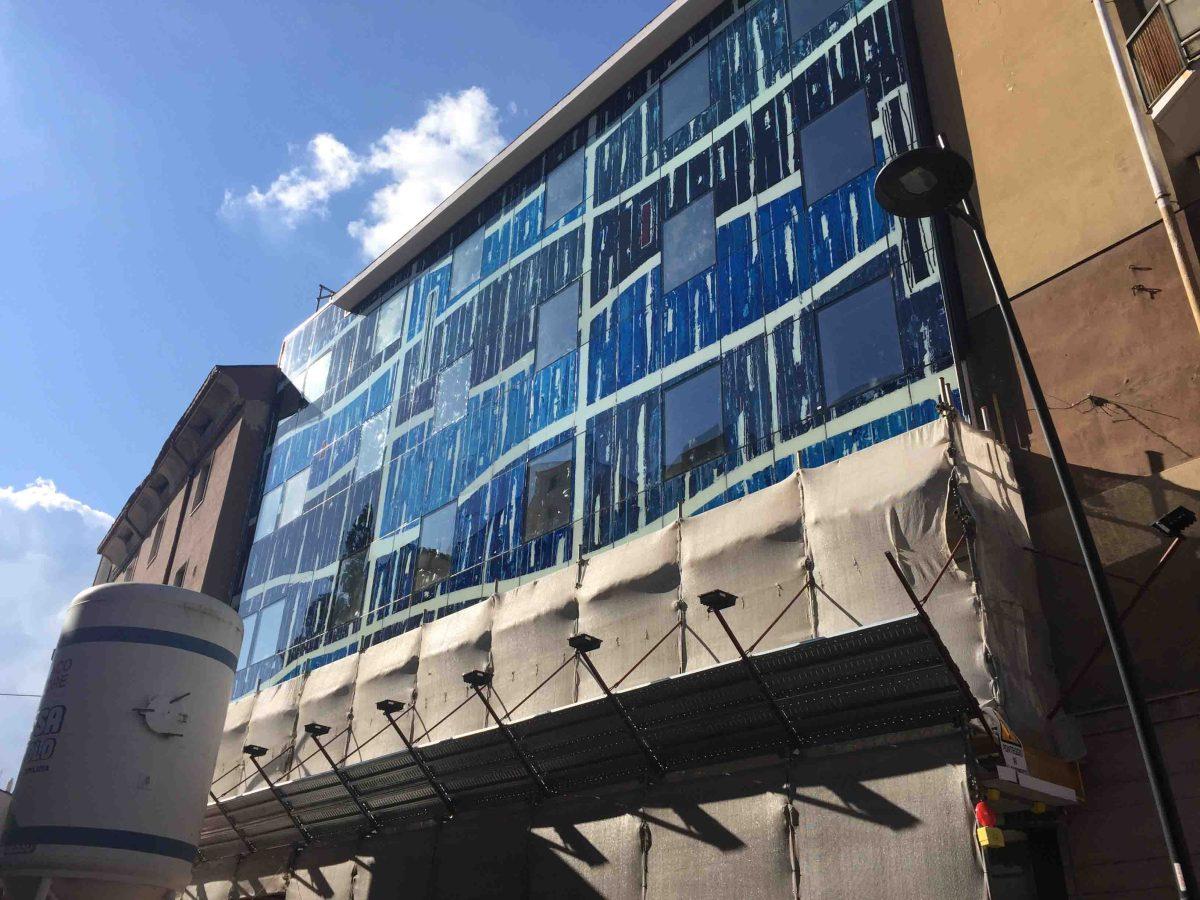 CondoArt, a Campobasso la prima opera di riqualificazione urbana al mondo attraverso l'arte