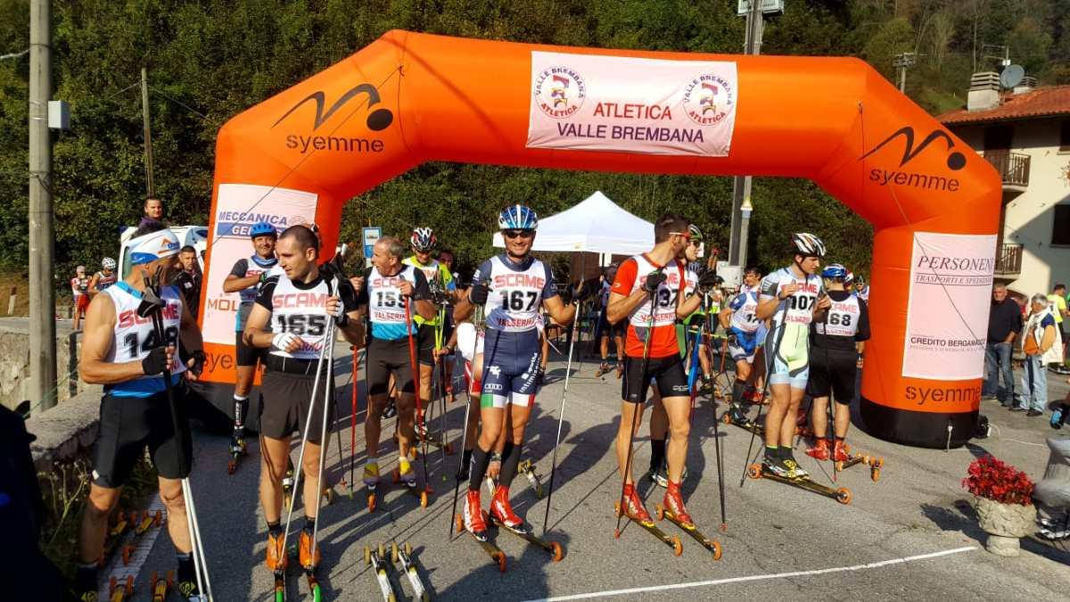 Skiroll, Antonio Sassano sesto al trofeo Dossena in provincia di Bergamo