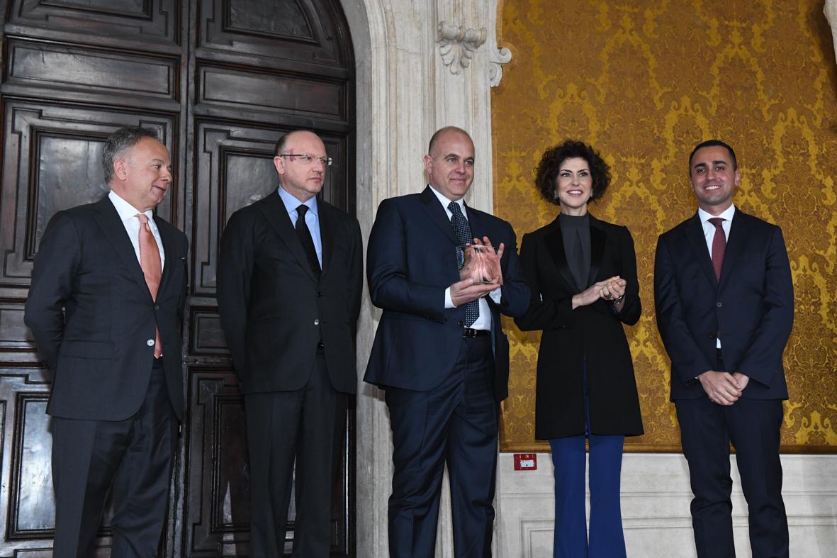 Eccellenza di industria 100% made in Italy, a La Molisana il premio Leonardo Qualità Italia