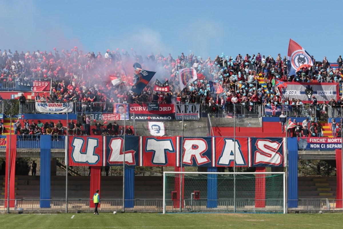 DASPO a due supporters rossoblù per i tafferugli nel post Campobasso-Cesena