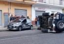 Agropoli: suv perde il controllo e si ribalta, le condizioni delle vittime