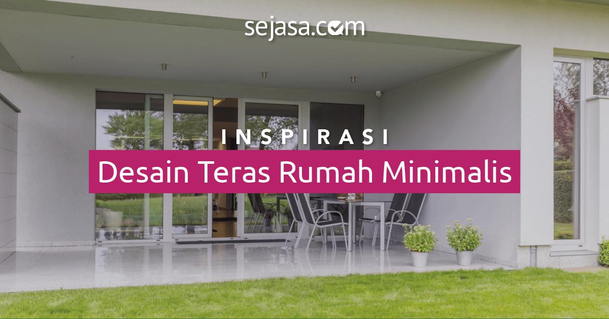 20 Inspirasi Desain Teras Rumah Minimalis Sederhana  Sejasacom