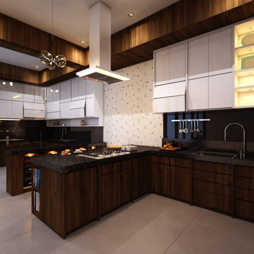 20 Model Desain Dapur Minimalis Manis dan Berbeda