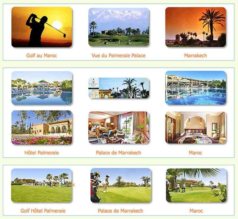 Voyage séjour golf à Marrakech au Maroc