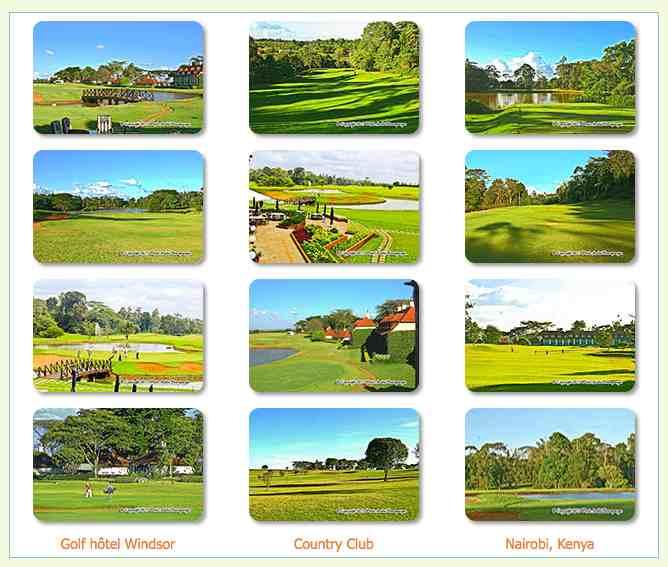 Voyage séjour golf Kenya Windsor Country club Nairobi
