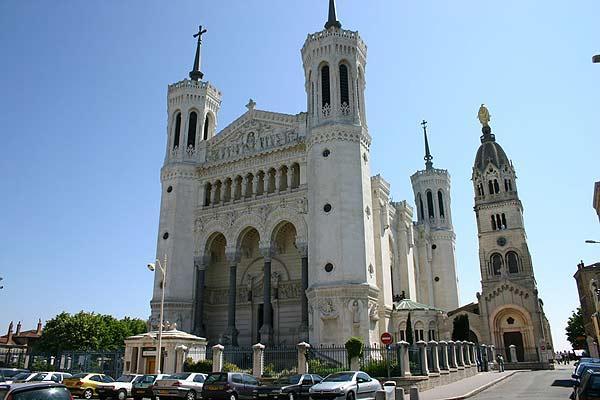 Lyon  NotreDame de Fourvire sur Sejourorg