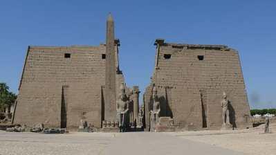 ルクソール神殿 古代都市テーベとその墓地遺跡