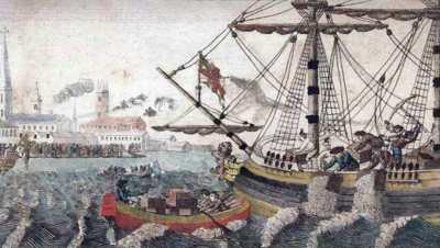 ボストン茶会事件