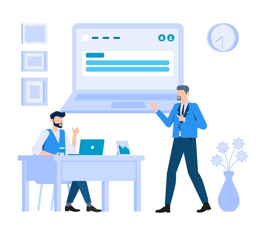Illustration Website Development