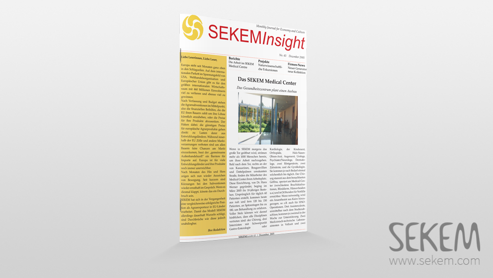 SEKEM Insight – 2005 – German
