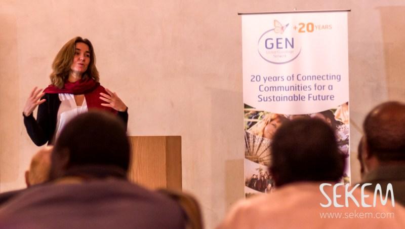 Kosha Joubert, founder and president of the Global Ecovillage Network, in SEKEM.