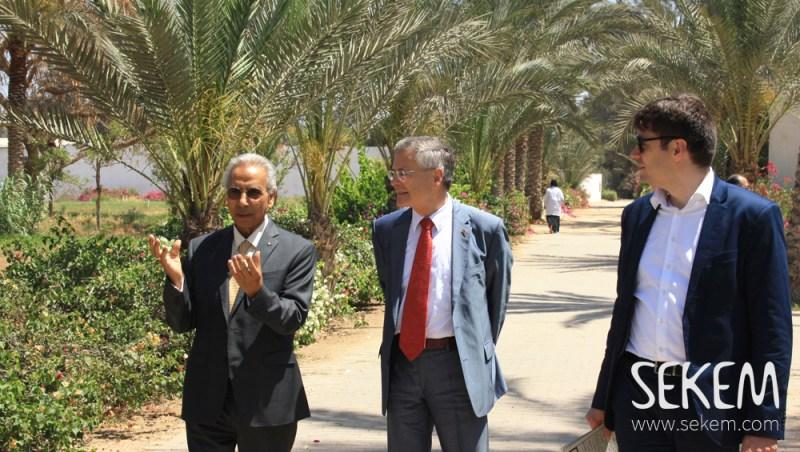 Deutscher Botschafter zu Besuch in SEKEM