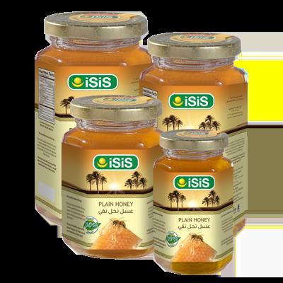 ISIS Organic PlainHoney