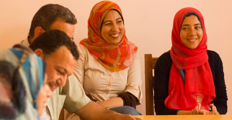 SEKEM Employees During Social Meeting
