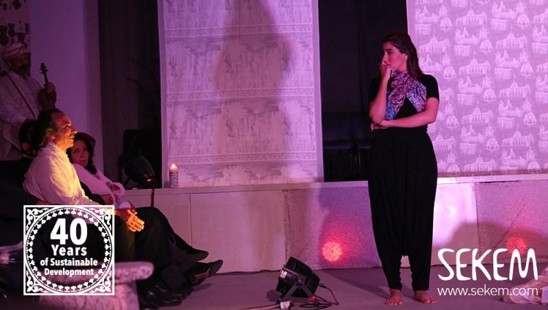 Shakespeare und Scheherazade: Hamada Shosha und Heba Abdelrazek von der Heliopolis Universität.