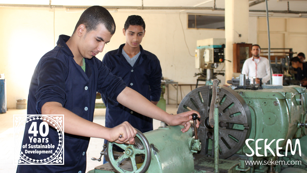Helpful Donation: New Machines for SEKEMs Vocational Training Center