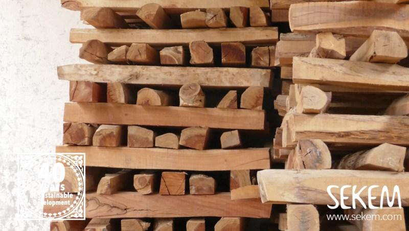 Kasuarinen Holz in SEKEM