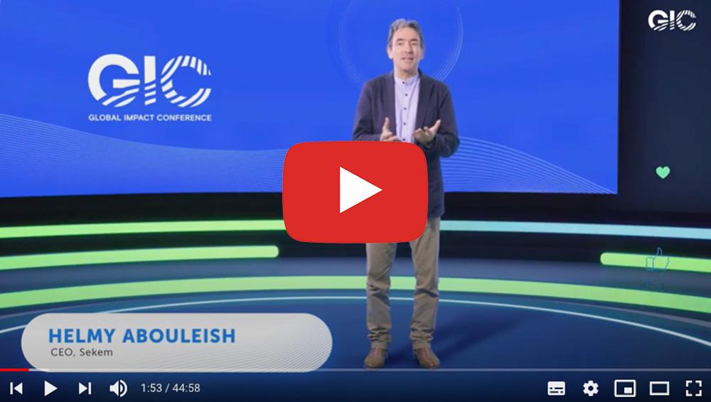 Beitrag Helmy Abouleish zu Global Impact Conference (englisch)