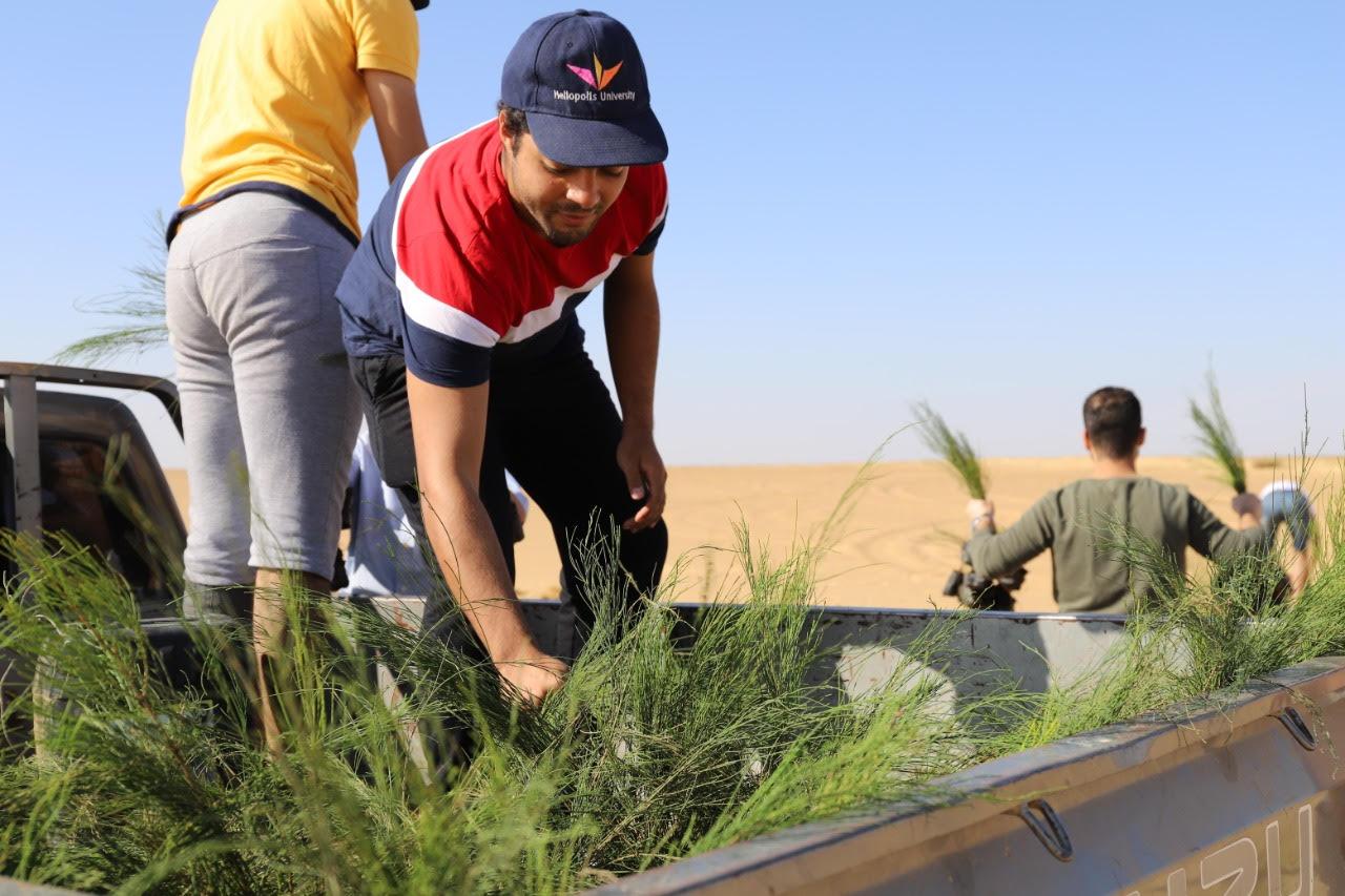 Neue Familien und eine Schule in der Wüste