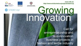 Call for Entrepreneurship and Business Projects: STAND Up! project