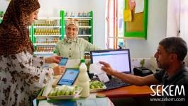 Ein besonderes Ramadan-Geschenk: MitarbeiterInnen erhielten SEKEM-Währung