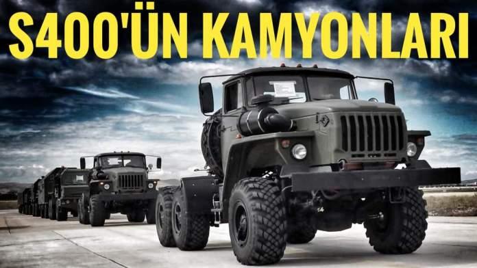 s-400 kamyonları