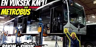 metrobüs ibb mercedes capacity körüklü otobüs