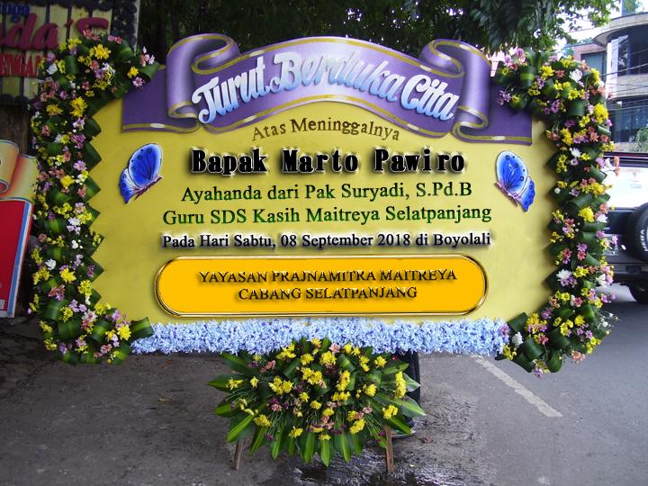 Turut Berduka Cita Atas Meninggalnya Bapak Marto Pawiro