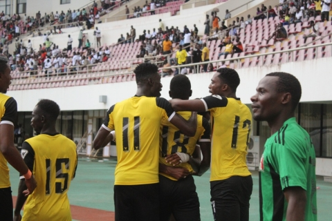 Ibrahim Sanah's volley not enough against Eleven Wise