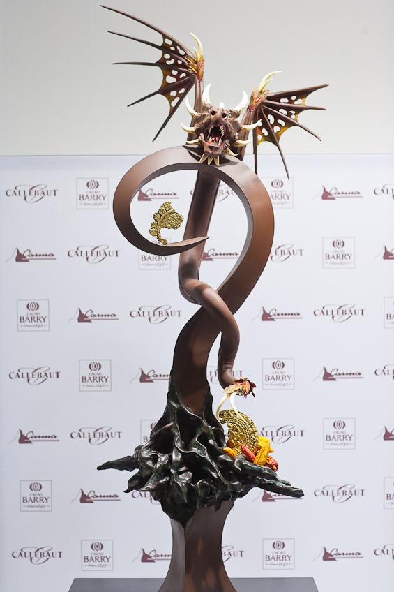 Quetzalcoatl z czekolady - Mariusz Buritta, Sowa Patisserie