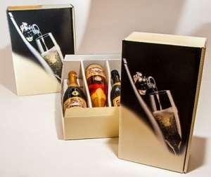 Sekt-Geschenk-Verpackungen