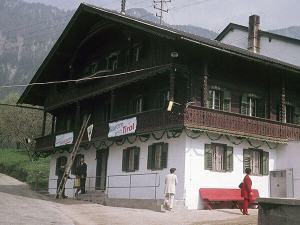 Die DAV Sektionshütte in Niederbreitenbach in den 1970ern